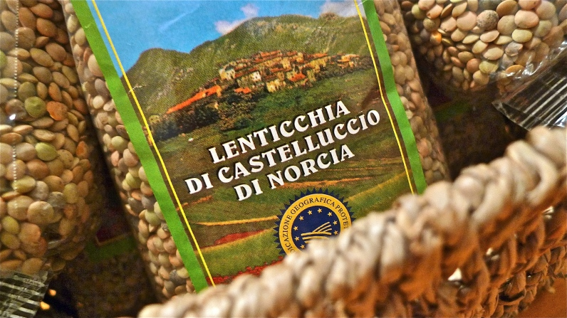 Packs of Lentils from Castelluccio di Norcia