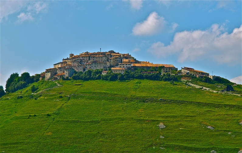 Panoramic of Castelluccio di Norcia