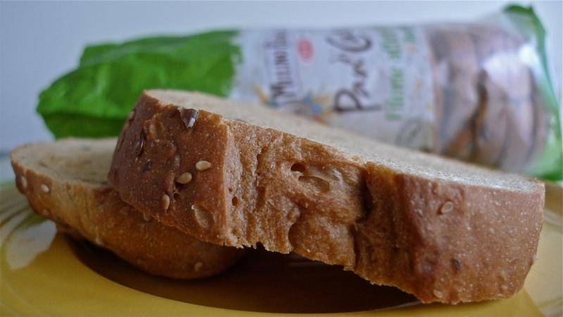 Italian rustic sandwich bread