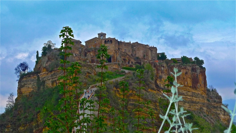 Civita Bagnoregio panoramic