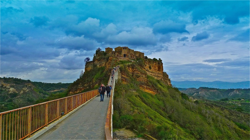 Bridge to Civita Bagnoregio