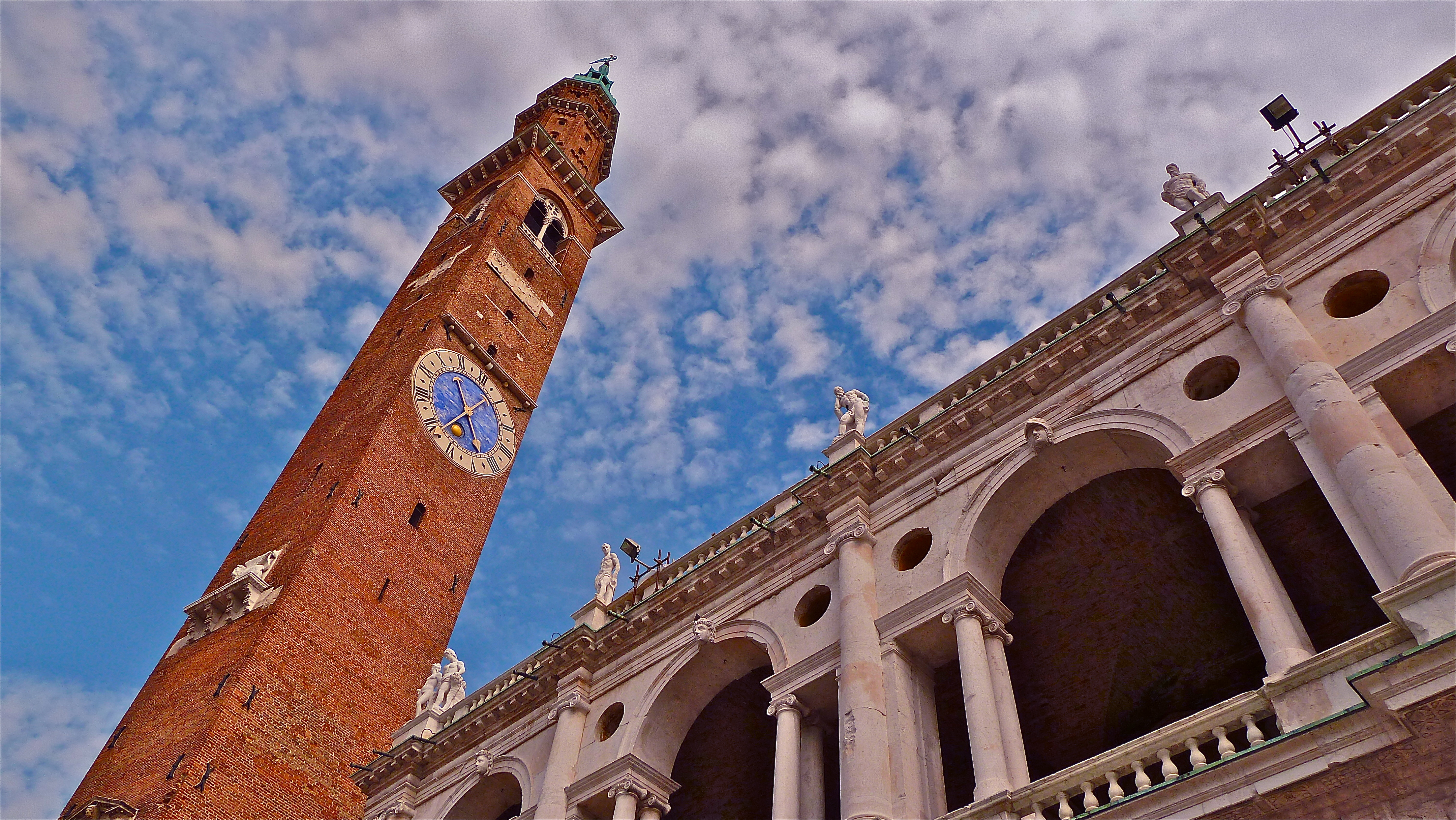 The clock on La Torre Bissara was designed by 14th century architect ...