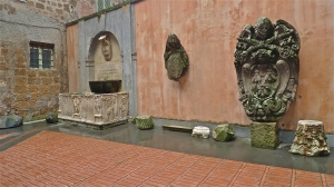 Sutri (VT), Italy - Courtyard of Palazzo del Commune - ©Tom Palladio Images