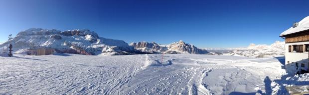 Panoramic of Passo Campolongo - Corvara, Italy | ©Stefano Sacchiero