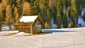 Herder's alpine refuge