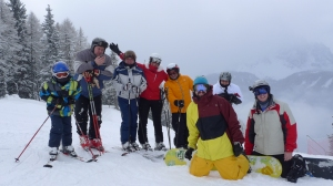 Ski Trek Villabassa 2013 - Group shot - Monte Elmo