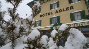 Exterior of Hotel Adler | ©Tom Palladio Images