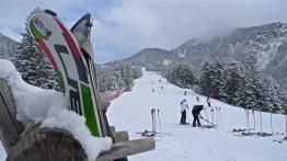 Skiing the Kronplatz near Brunico, Italy | ©Tom Palladio Images