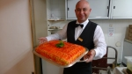 Orange slice cake - Hotel Adler - Villabassa, Italy | ©Tom Palladio Images