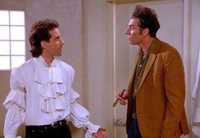 Seinfeld and the puffy shirt | ©Sony Pictures Television