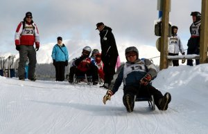 Sledding competition | San Candido, Italy