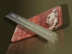 The Palladian Traveler - reflection logo