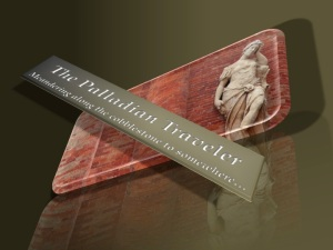 The Palladian Traveler - reflection logo