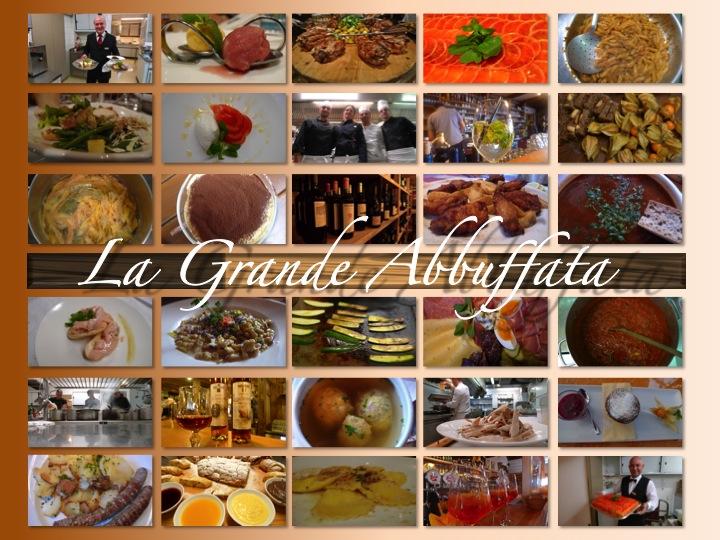 Food collage graphic   ©Tom Palladio Images