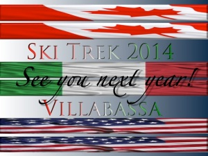 Ski Trek Villabassa 2014 graphic | ©Tom Palladio Images