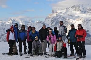STV 2013 atop atop Cristallo - Cortina d'Ampezzo | ©Susan Halligan rodgers