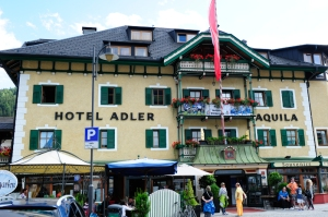 Adler Hotel exterior | ©Hotel Adler