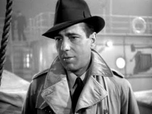 Bogart sports a Borsalino in Across the Pacific | ©Warner Bros Pictures