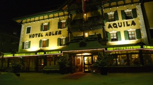 Night view of Hotel Adler - Villabassa, IT | ©Tom Palladio Images