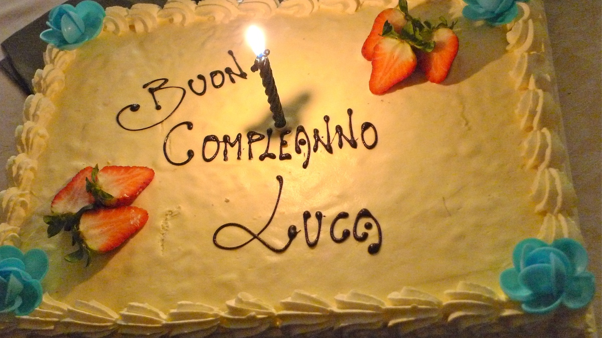 "Luca's ""Anonymous"" Birthday"
