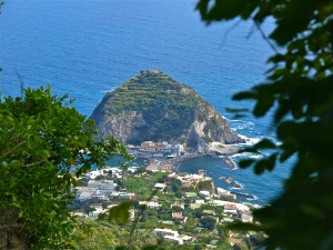 View above of the commune of San Angelo, Ischia, IT | ©Tom Palladio Images