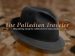 The Palladian Traveler hat on Venetian pavement | ©Tom Palladio Images
