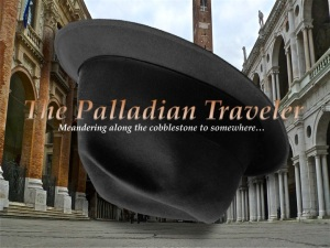 The Palladian Traveler's Borsalino upside down in Vicenza | ©Tom Palladio Images