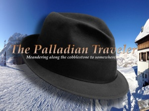 The Palladian Traveler's Borsalino over the Dolomites | ©Tom Palladio Images