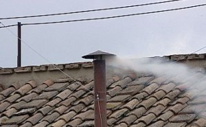 White smoke from the College of Cardinals