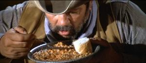 Eating beans - Blazing Saddles ©1974 Warner Bros. Pictures