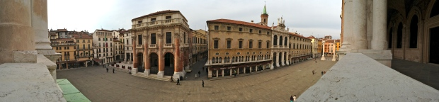 Above Piazza dei Signori - Vicenza, Italy | ©Tom Palladio Images