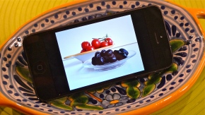 Tomatoes and Olives on my  Camera Roll | ©Tom Palladio Images