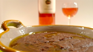 Costadolio Rosato IGT with Bean Soup | ©Tom Palladio Images