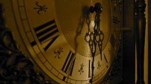 Dials on a grandfather clock | ©Tom Palladio Images