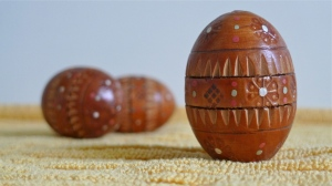 Ukrainian wooden Easter eggs | ©Tom Palladio Images
