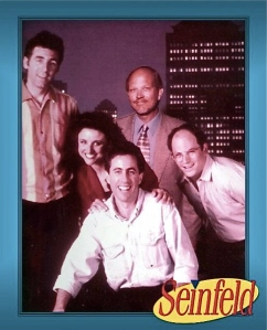 Cast of Seinfeld and Tom