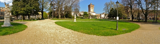 Around the Park Benches - Giardini Salvi - Vicenza, IT | ©Tom Palladio Images