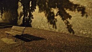 Dark Shadows Bench - Norcia, IT | ©Tom Palladio Images