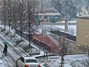 Vicenza in the Snow | ©Tom Palladio Images