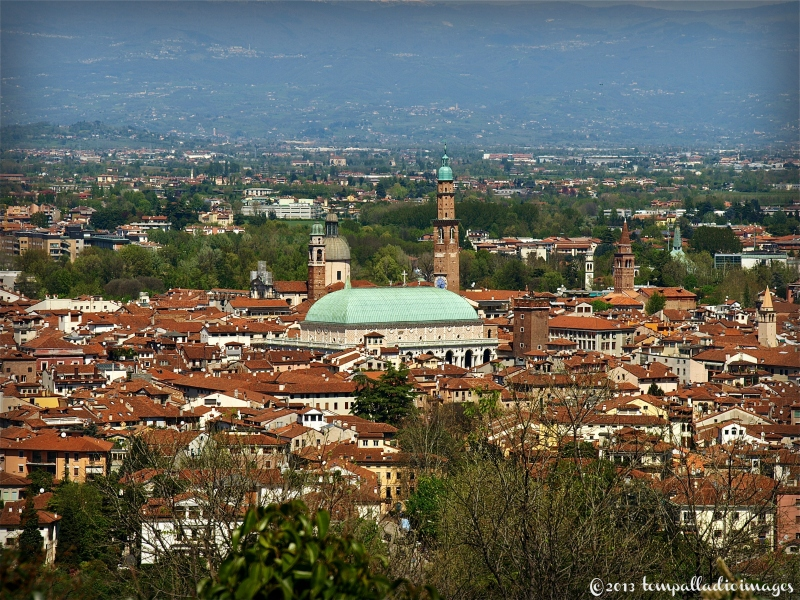 Panoramic view of Vicenza, Italy | ©Tom Palladio Images