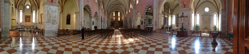 Inside the Duomo - Vicenza, Italy | ©Tom Palladio Images