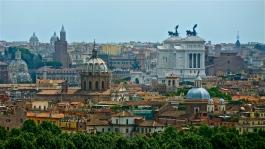 Panorama of Rome, Italy | ©Tom Palladio Images