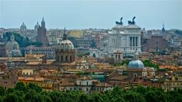 Panorama of Rome, Italy | ©Tom Palladio Images
