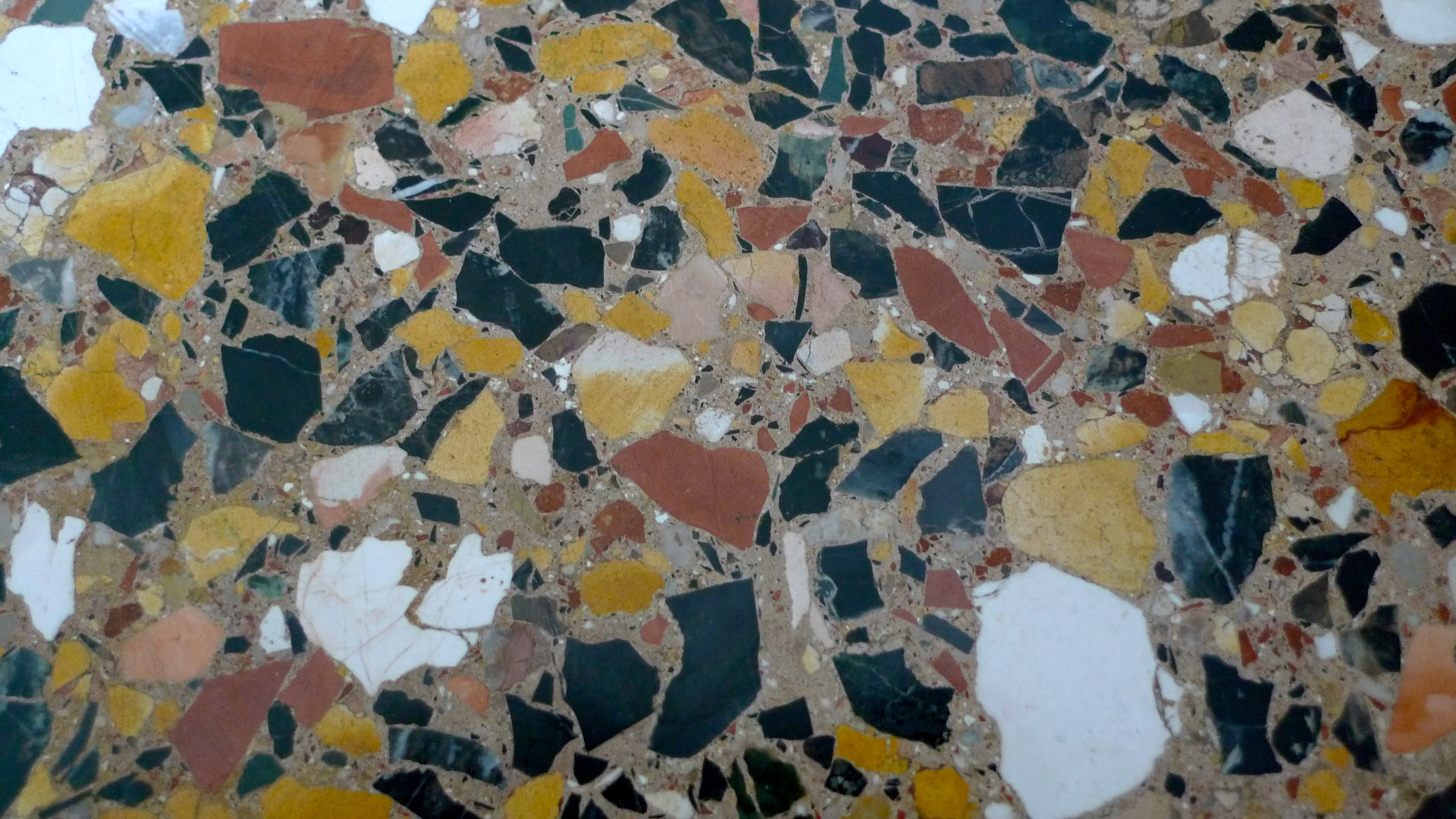 Patterned after venice the palladian traveler - Terrazzo veneziano ...