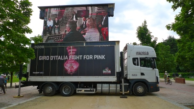 "Giro d'Italia 2013 ""Truck Stop"" | ©Tom Palladio Images"