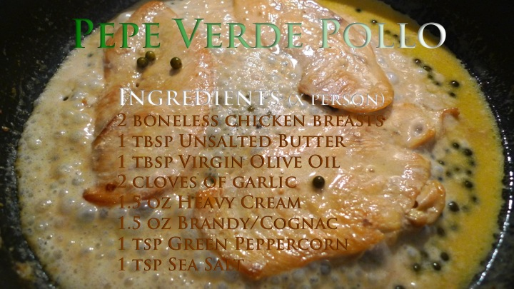 Pepe Verde Pollo recipe graphic | ©Tom Palladio Images