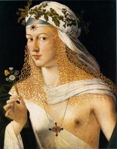 Lucrezia Borgia portrait by Bartolomeo Veneto