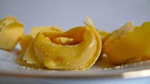 Tortelloni ripieni con Zucca e Amaretti | ©Tom Palladio Images