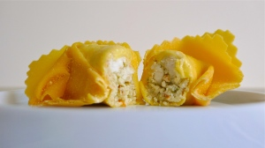 Tortellone stuffed with asparagus and ricotta | ©Tom Palladio Images