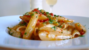 Plated Penne all'Arrabbiata | ©Tom Palladio Images